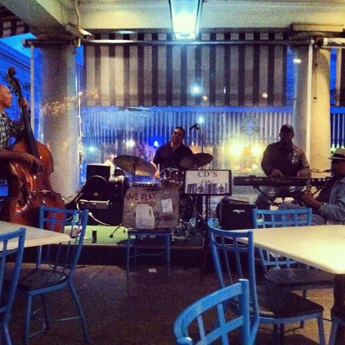 Jazz combo at The Market Cafe in New Orleans. Great group!  #music #jazz #combo #neworleans #louisiana #nola #awesome #night  (at The Market Cafe)