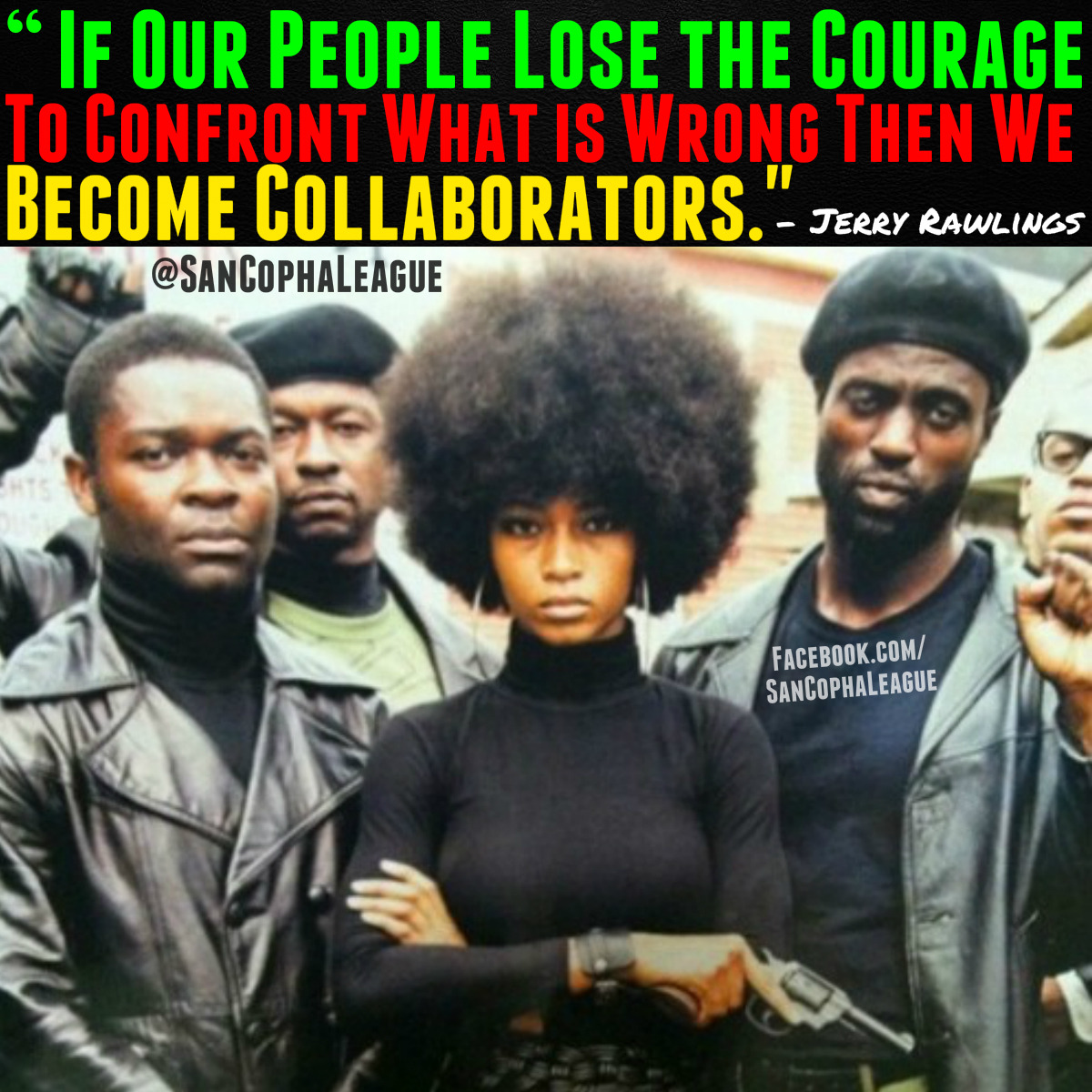 There is way too much work that needs to be done by our people in order to change the way things are in Black Communities around the world for any of us to be afraid to address the issues. You are only aiding in the Racism and Discrimination towards us if you choosing a complacent or cowards path instead of confronting the problems.  Written By: @Champion_Us