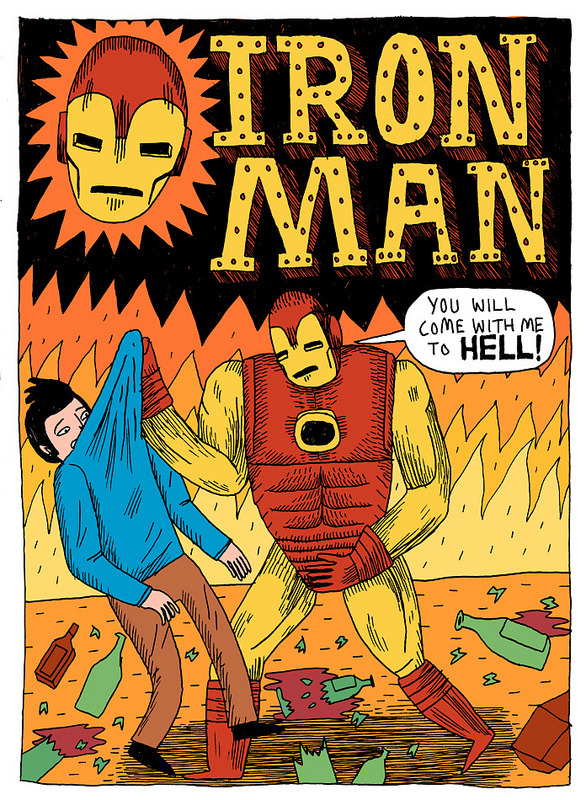 Iron Man by Jack Teagle
