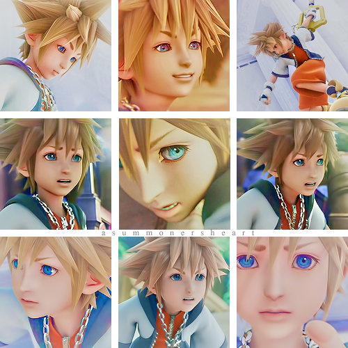 asummonersheart:  Sora Icons ♡ 18 icons total. Credit is never mandatory, but is always appreciated! Please like if you use! Screencaps found here. Read More