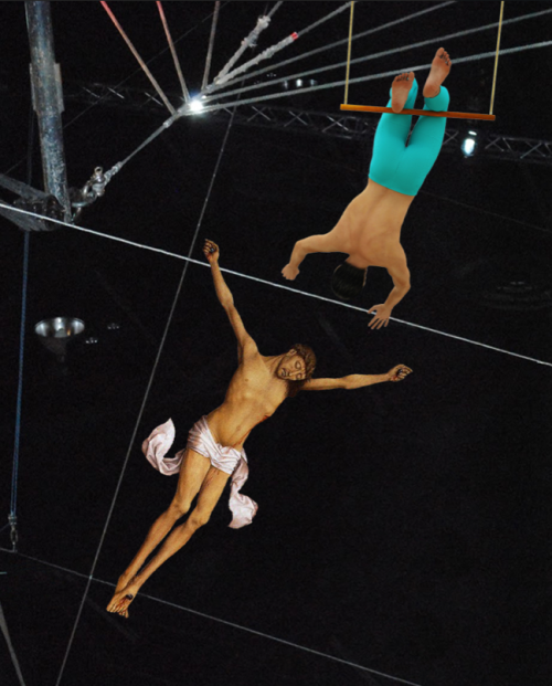 Jesus As A Trapeze Artist