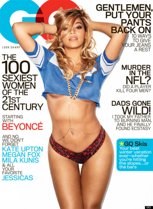 Beyonce x GQ Moment of silence. Just soak it all in and enjoy.