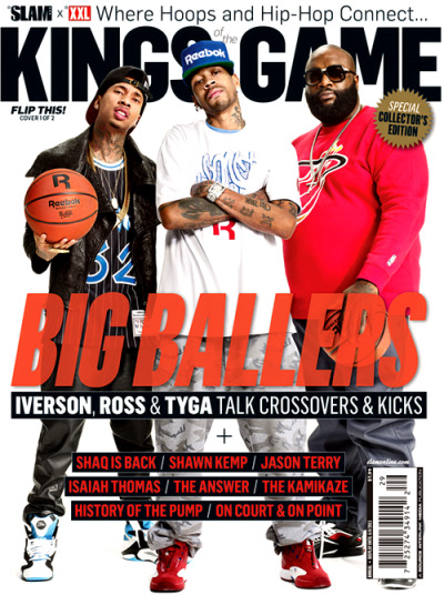 Tyga, Allen Iverson+ Rick Ross for the latest issue of XXL.