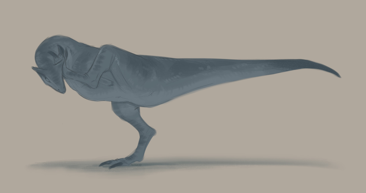 ive been playing the Isle alot. #carno#dinosaur#sketch