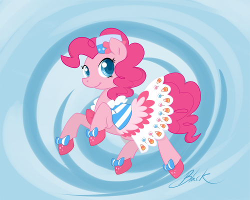 Pinkie Pie Grand Galloping Gala dress revisited Rainbow Dash version Fluttershy version