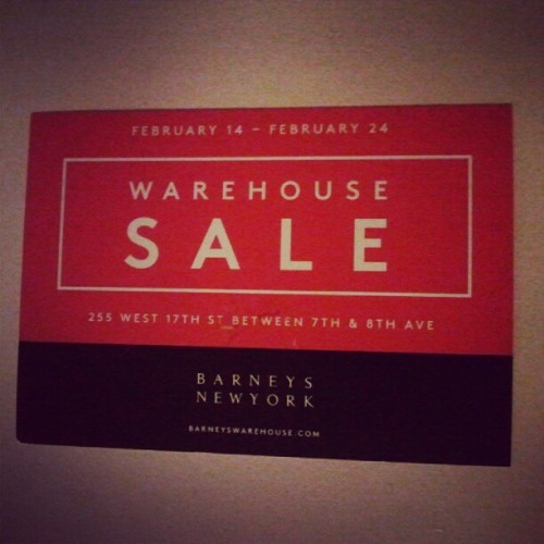 The Barneys Warehouse Sale is ILL It's on my ninja!  Are you ready?  Ready for what you ask.  Ready to dig son! That's right my G. Dig!  That's what you do at this wonderful time of year.  You dig. You step up in the Barneys Warehouse sale and dig for deals!  Deals on the ILLEST brands at even ILLER prices.  And this is not for the posers, the lames, the bamas, and the amateurs either.  This is for THE REAL HEADS.  The dudes that are SERIOUS with their style.  Cats that know how to stunt, and take pride in it. This is for cats that don't look at clothes shopping as another errand.  You ain't buying a carton of milk B.  You are buying confidence, swag, and power.  So take pride in this mission.  Prepare for this mission!  Boxer shorts, and not briefs to try on pants in front of everyone.  There ain't no dressing rooms in a warehouse.  Dressing rooms are for sissies!  Real men don't need a dressing room. I will for dam sure be going hard because I am not playing.  Dudes better not give a funny look or prevent me from digging in that tie bin for some heavily discounted Alexander Olch ties. I'm on a budget out here and I MUST BALL. I ain't stopping for a meal that's for amateurs, on an excursion longer than an MC Hammer tour!