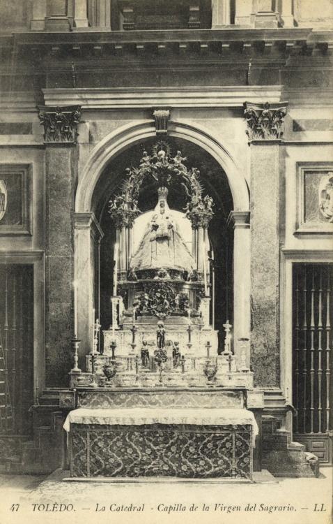 Capilla de la Virgen del Sagrario (Chapel of the Virgin of the Tabernacle), Toledo Cathedral, Spain