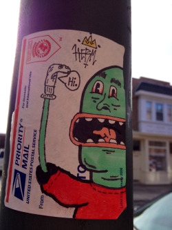 loladelphia:  Center City sticker art.  yes.