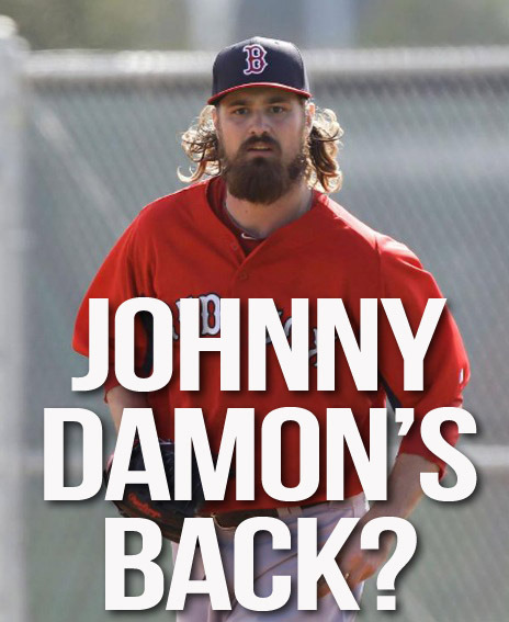Johnny Damon's back?