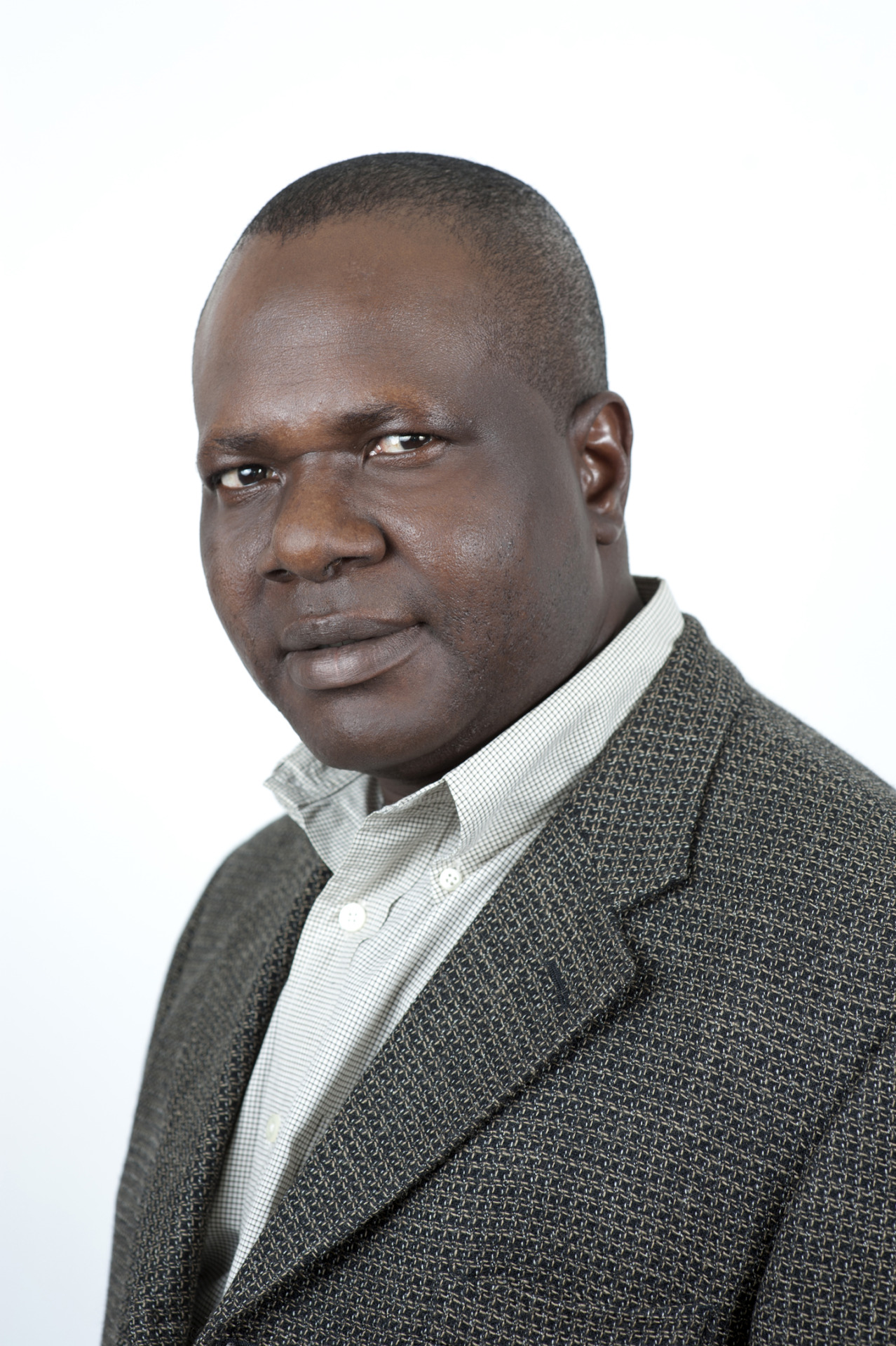 "Headshot of author Lolu Adebayo for his book ""In 2020, I Want a Woman President"""
