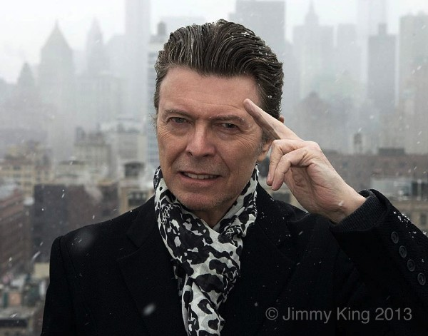 David Bowie by Jimmy King, 2013