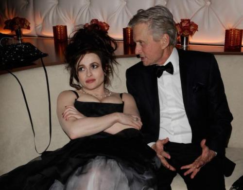 One more reason to love Helena Bonham Carter. Oscar parties? Sure, whatever.