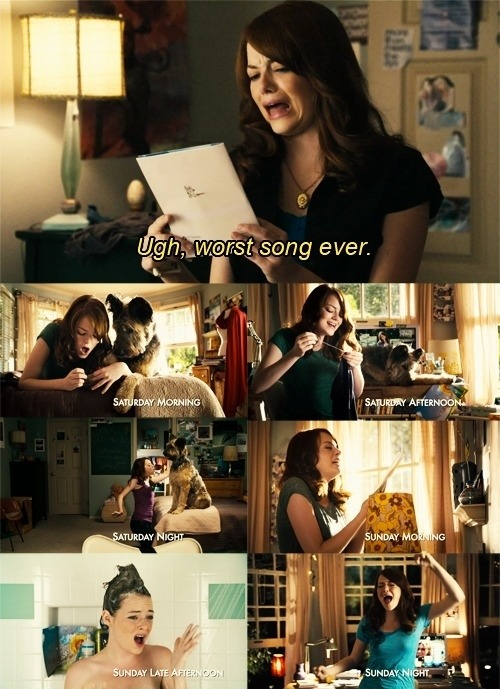 awesome, card, easy a, emma stone,