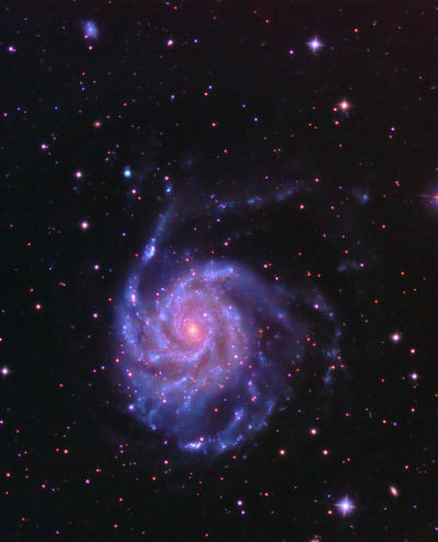 M101 (Pinwheel Galaxy) - 10 May 13 (by Astro Steve)