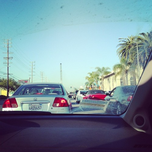 DIDNT miss LA traffic