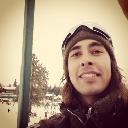 snowboarding at Big Bear