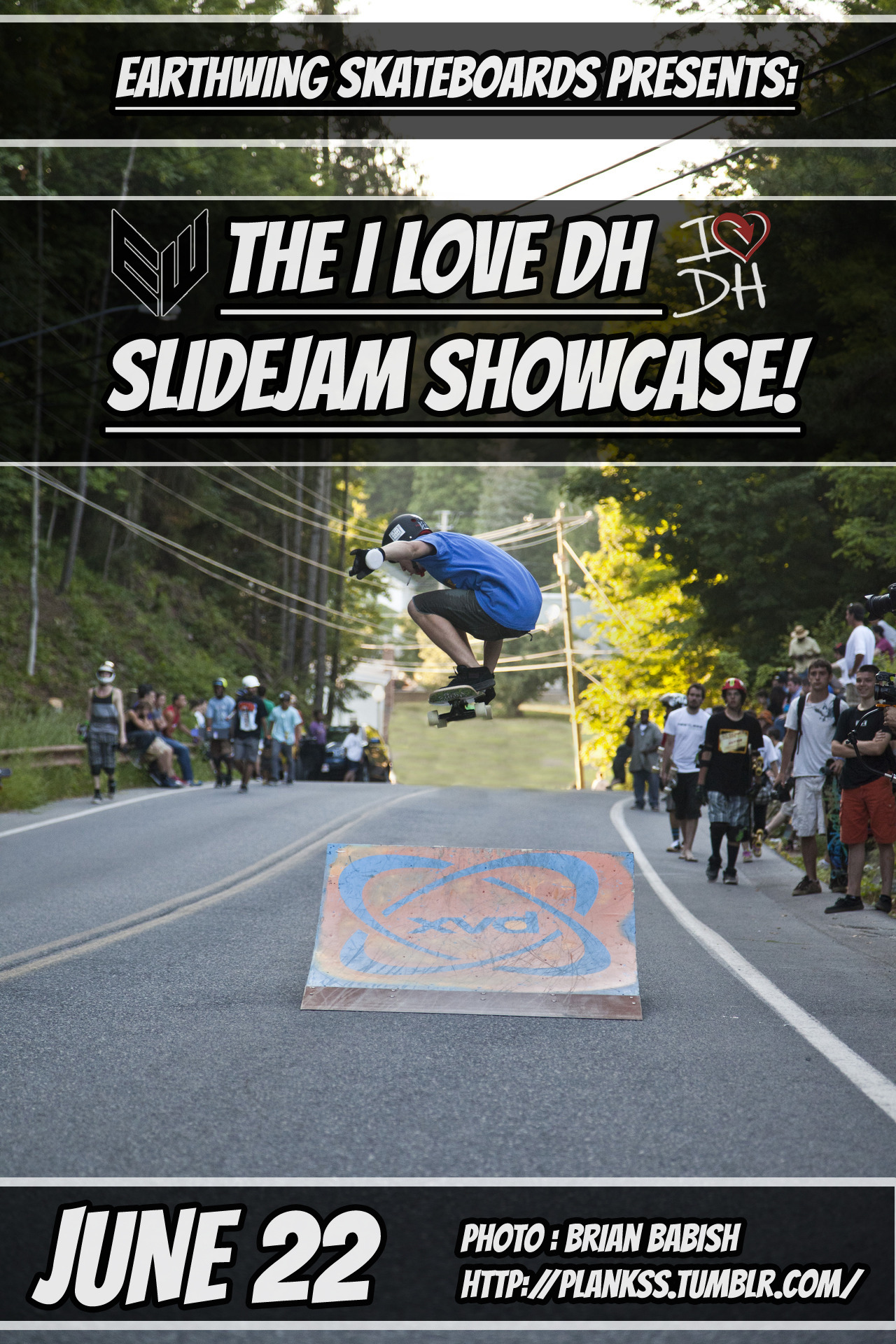 earthwingskates:  YEEE-FUCKING-HAWWWW!!If you're going to ILOVEDH next month, be sure to hit up our slidejam saturday night! It's gonna be a rad ol' time!Here's the link to the ILOVEDH FB page if you haven't signed up yet…Big thanks to Marc Dean for putting this weekend together!!-Steve