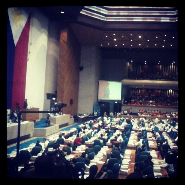 At the Plenary Session Hall last night #RHBillVote #121212