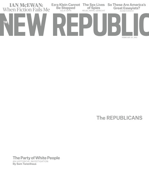 thenewrepublic:  The New Republic, February 25, 2013