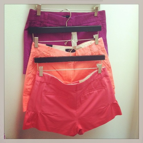 My addiction to #jcrew #chinco shorts is kinda bad. #instafashion
