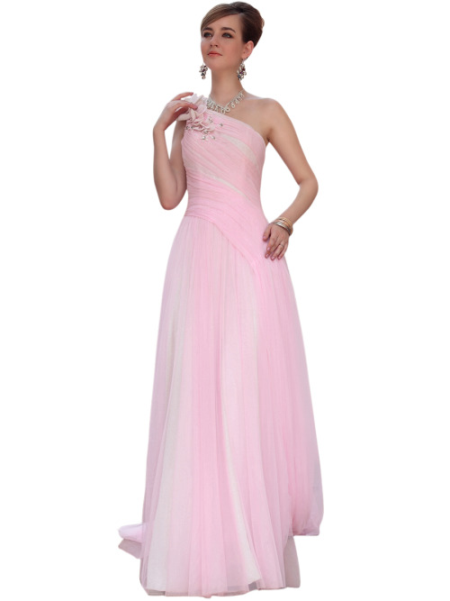 IRISH IN PINK FLORAL CHIFFON BRIDESMAID DRESS  SKU# 30613 Be the first to review this product Availability: In stock £215.00