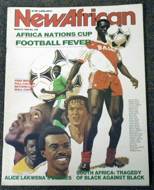 #AFCON can't recall if i posted this last year when i found it?
