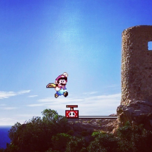 Mario World Retro #nintendo #mariobros #gamer #retro