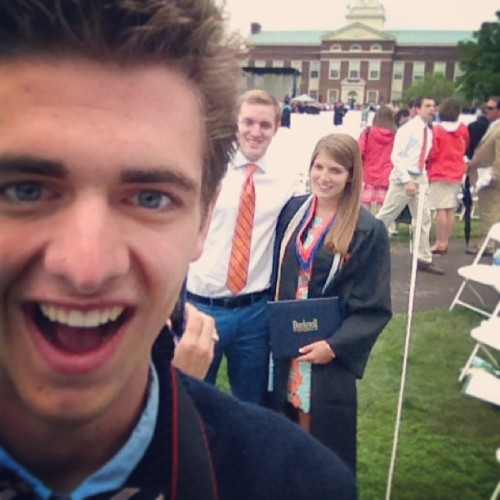 Photo bombing the graduate. Phi betchin' kappa, she's so famous. Congrats sis! by jingram227 http://bit.ly/12NZjtq May 19, 2013 at 03:13PM