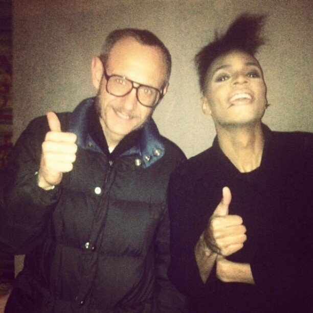 sb4life:  Ran into Terry Richardson outside my show tonight! I am in Awweeeeee!!