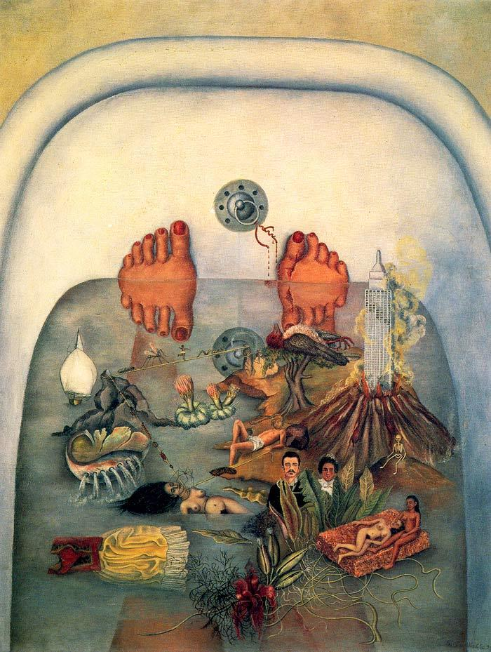 Frida Kahlo - What the Water Gave Me (1938)