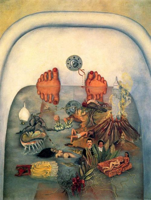 marydear:  Frida Kahlo - What the Water Gave Me (1938)