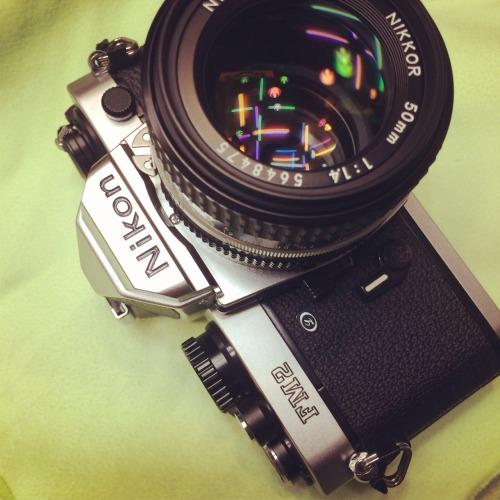 It looks like new. Nikom FM2 + Ai-s 50mm F1.4
