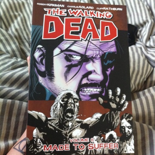 Just some light reading. 👌 #thewalkingdead #madetosuffer