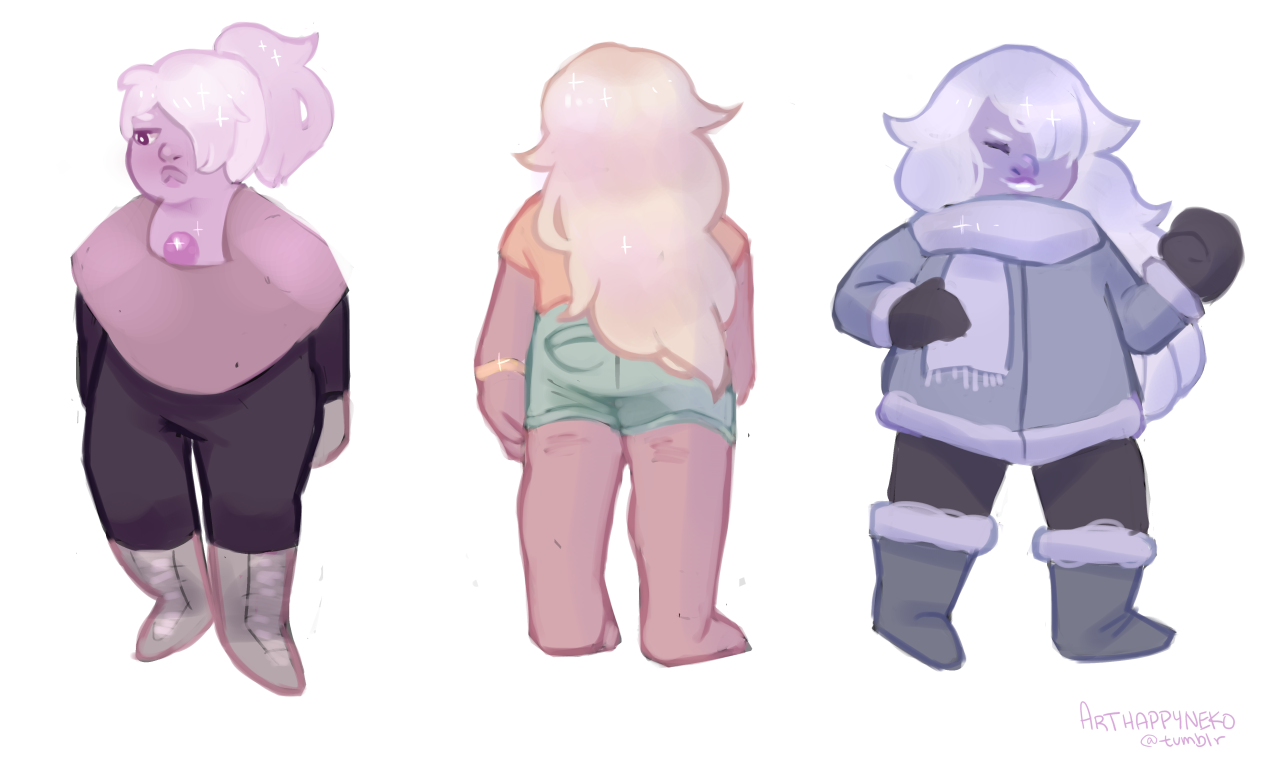 the many colors of amethyst…