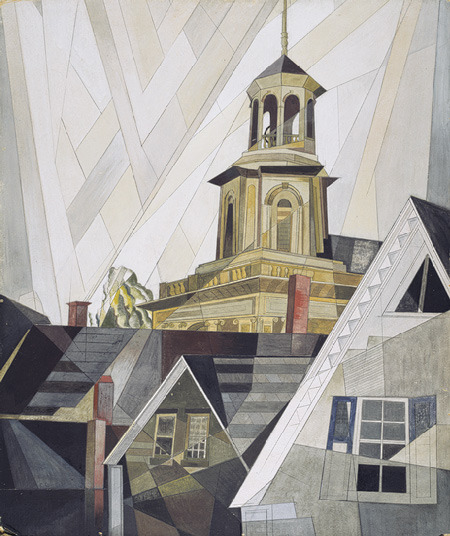 le-desir-de-lautre:  Charles Demuth (American, 1883–1935), After Sir Christopher Wren, 1920, watercolor, gouache, and pencil on cardboard, 24 x 20 in. (60.5 x 51 cm)