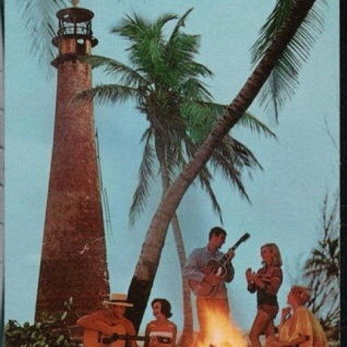 Vintage postcard from Key Biscayne's Bill Baggs State Park! 🌊🌴🎶 #keybiscayne  (at Bill Baggs Cape Florida State Park)