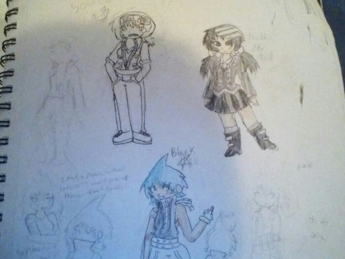 have some soul eater gender bends?? i did these quite a while ago though!! also soul isn't colored