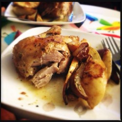 roast chicken dinner *noms #thehubbycooks