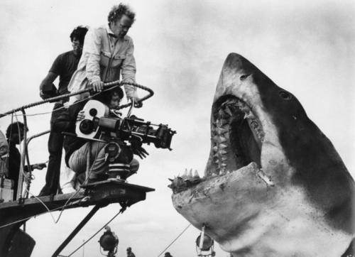 actorsbehindthescenes:  Jaws Behind the scenes