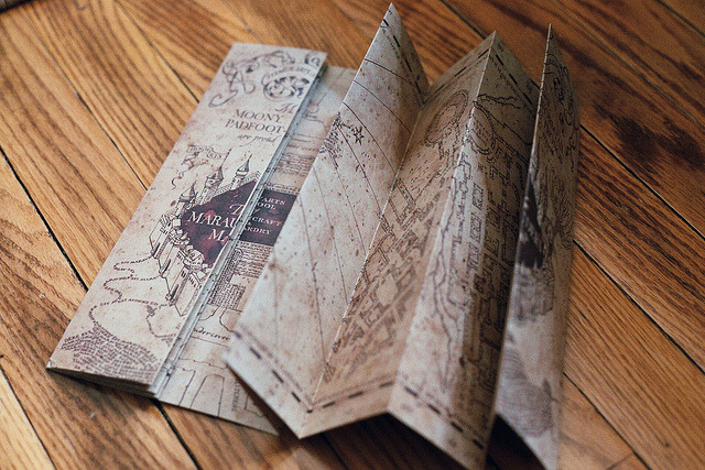 | ♕ |  Marauder's Map  | by © voldy92