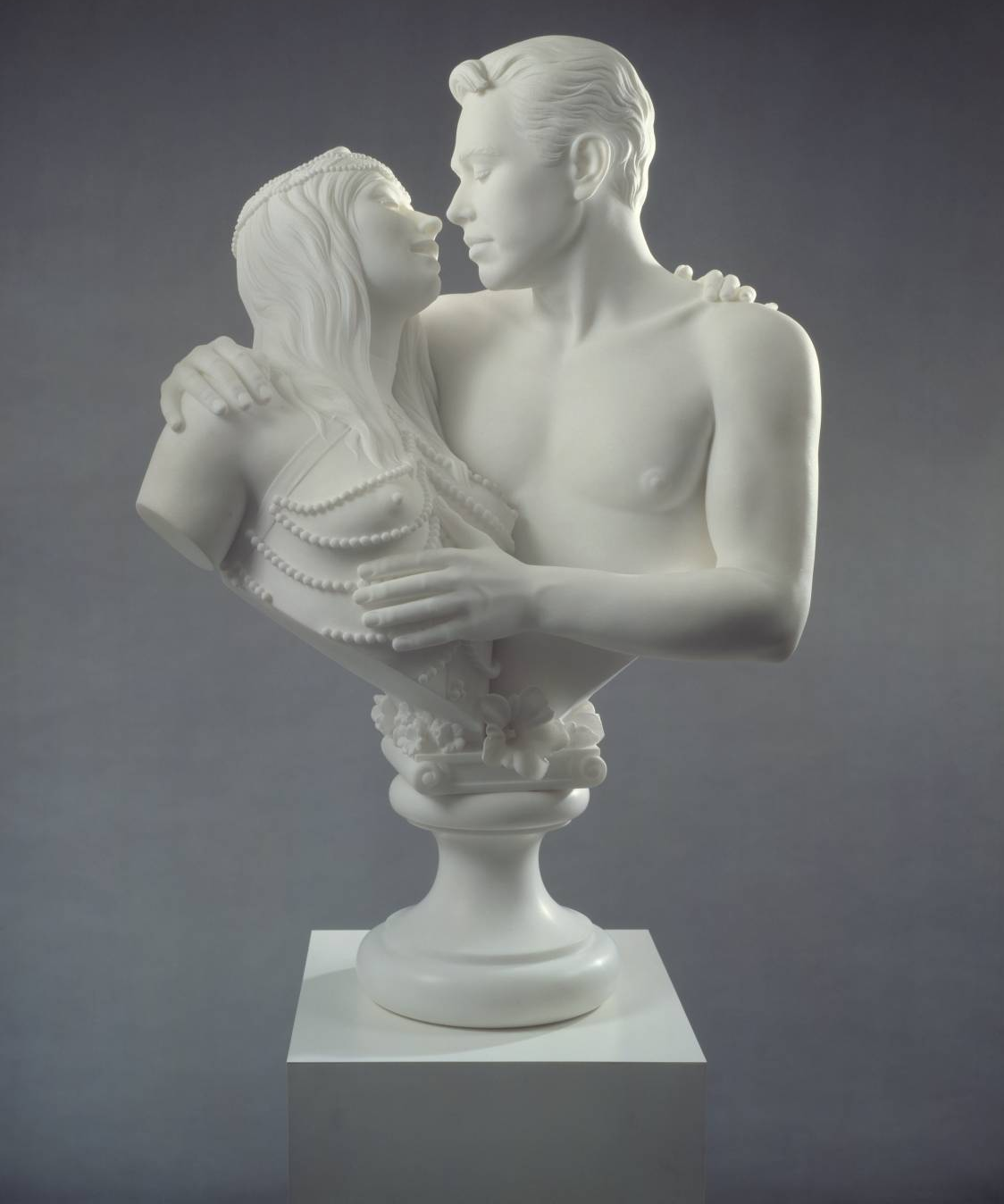 Bourgeois Bust - Jeff and Ilona, 1991 by Jeff Koons
