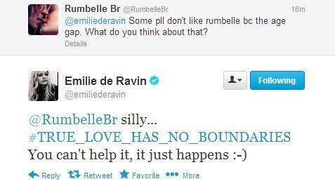 rumbellebr:  SHE REPLIED ME….OH MY GOLD!!!