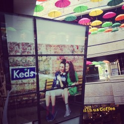 Keds #keds #sneakers #footwear #seoul #korea #shop #shopping #fashion #mode #lamode #cloud33 #cloud33mag #cloud33seoul #grabs #thegrabs #grabsSeoul  (at Mecenatpolis)