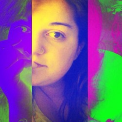 👽 #goodmorning #color #selfie  #me #nosering #crazy