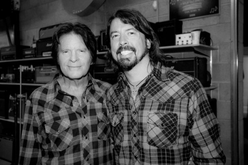 "rollingstone:  John Fogerty enlisted an all-star group of collaborators for his upcoming album Wrote a Song for Everyone, and the Foo Fighters were among his jam partners. Fogerty dug through his deep catalog for the album, from his Creedence Clearwater Revival days to his solo career, and teamed with Dave Grohl and crew for a revival of CCR's anti-war anthem ""Fortunate Son."" Listen exclusively to the track."