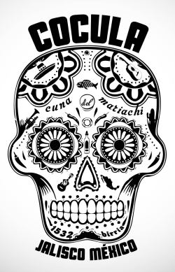 thenapadesign:  calavera shirt Coculathenapadesign