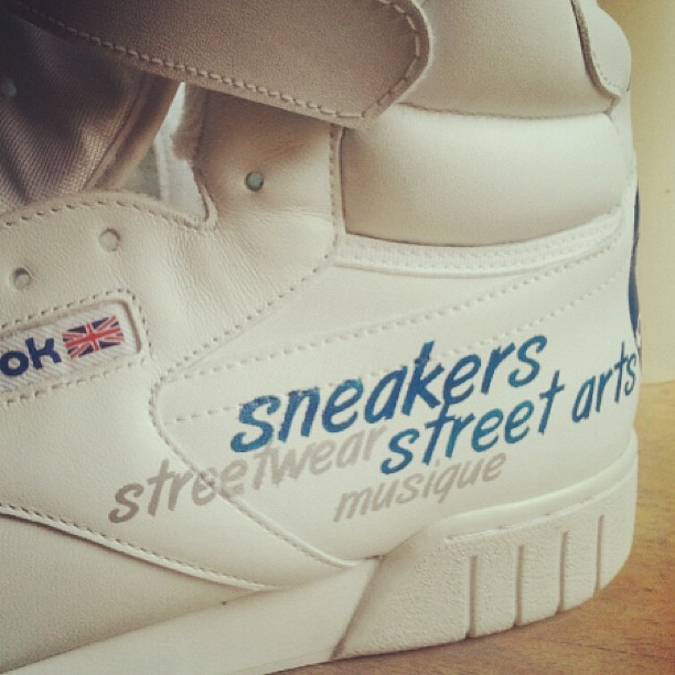 #Reebok X Street Rules custom by @rudnes step 3. #sneakers #kicks #custom #whosnext #wsnopnlive #wsn