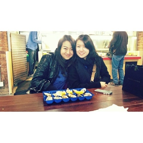 With @chewalison  (at South Melbourne Market)
