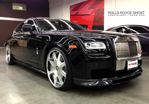 Another fully custom built Vorsteiner Rolls Royce Ghost edition by Euro Car in Costa Mesa California.  Product features include: Pre-Preg Carbon Fiber Front Spoiler, Side Skirt Blades, Rear Deck Lid Spoiler and Rear Diffuser  Find out more at: http://www.vorsteiner.com/rollsroyce