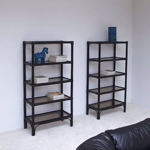 BLACK LACQUERED #BAMBOO #BOOKCASE #decorative #instagood #vintage #design #vintagedesign #vintagehome #architecture #decoration #interriordesign #livingroom http://on.fb.me/16u7XCC